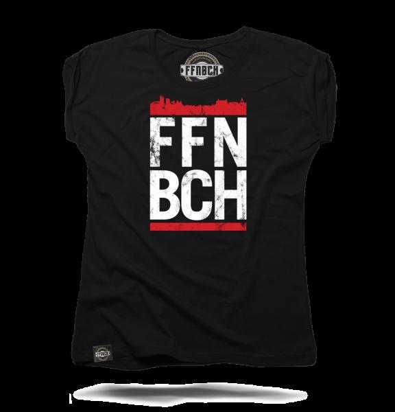 """T-Shirt """"RUN FFNBCH"""" Damen"""
